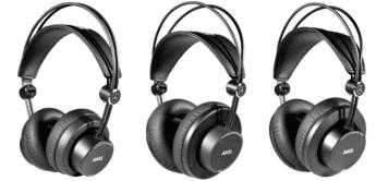 AKG stellt drei neue Kopfhörer K275, K245 und K175 vor