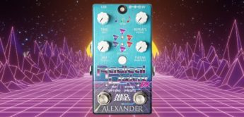 Test: Alexander Pedals Radical Delay DX, Delay-Pedal