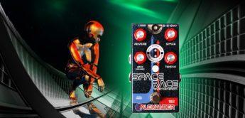 Test: Alexander Pedals Space Race, Gitarren Hallpedal