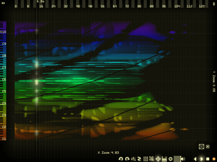 Alexander Zolotov Virtual ANS 3 iOS Sonogramm: Refections
