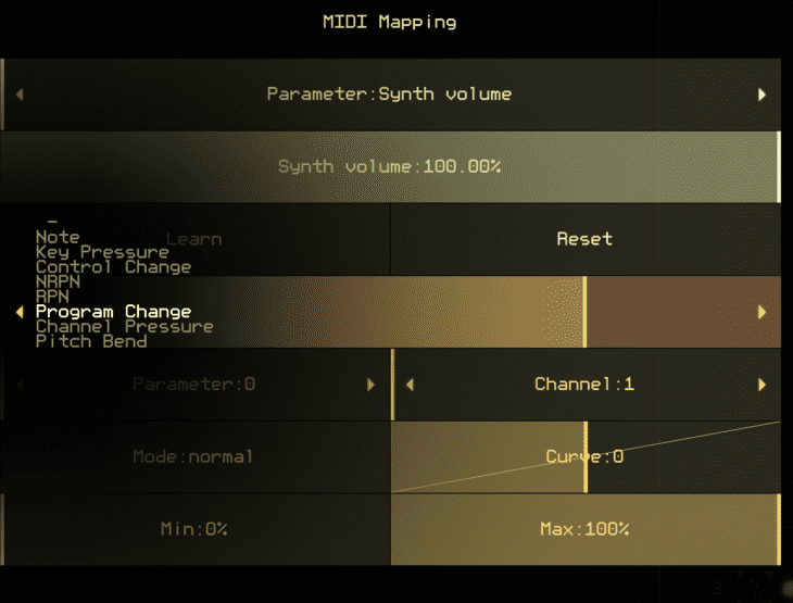 Alexander Zolotov Virtual ANS 3 iOS MIDI-Mapping