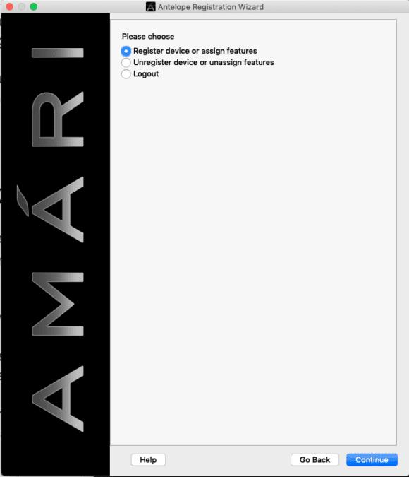 Antelope Amari Installation 1
