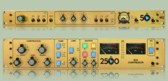 API Audio – limiterte Auflage des Channelstrips 862 und 2500 Bus Kompressors