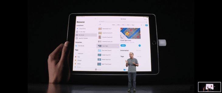 iPadOS Externe USB-Massenspeicher