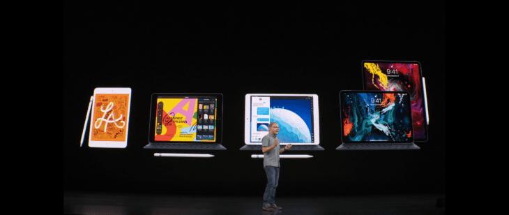 Apple Ipad Familie 2019