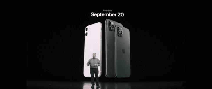 Apple iPhine 11, 11 Pro, 11 Pro Max