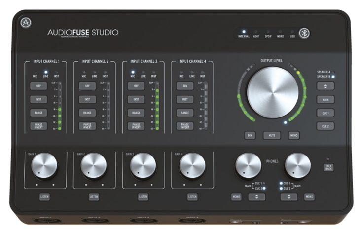 arturia audiofuse studio 8pre