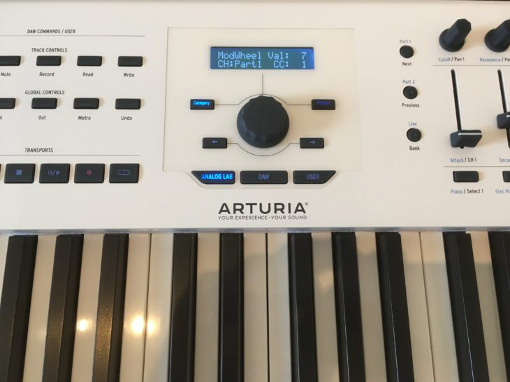 arturia keylab 88 mk2 11