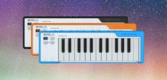 Test: Arturia MicroLab, MIDI-Keyboard