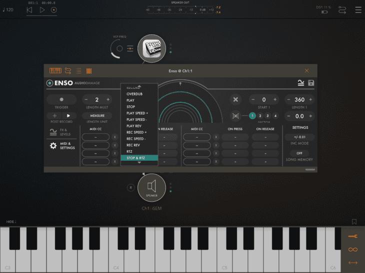Audio Damage Enso - MIDI-Matrix