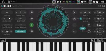 Enso, Genialer Live Looper von Audio Damage für iOS