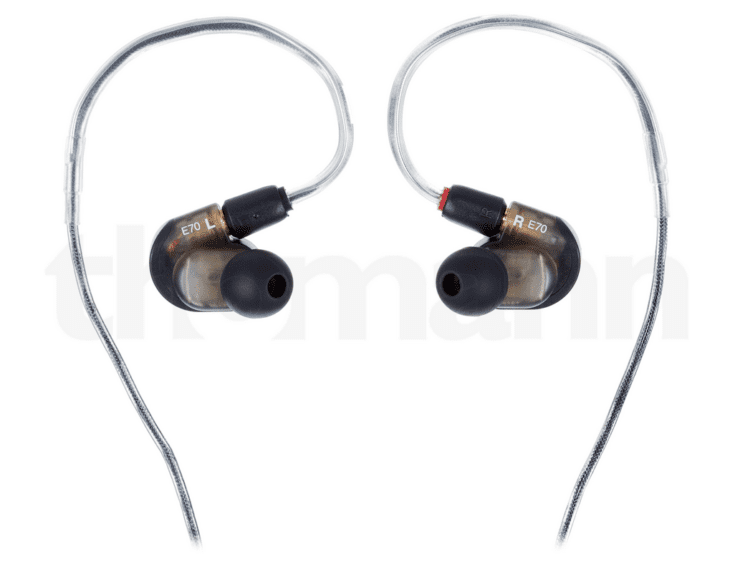 Audio-Technica ATH-E70 - Detailansicht von hinten