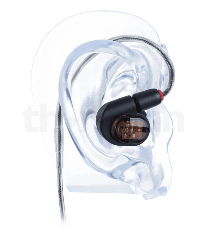 Audio-Technica ATH-E70 - die Platzierung im Ohr