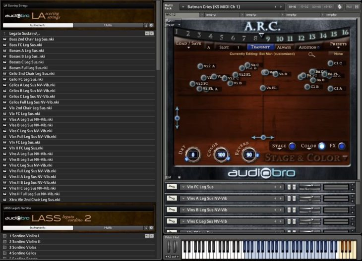 audiobro la scoring strings 2