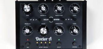 Audiothingies Doctor A, Delay/Reverb mit MIDI & CV