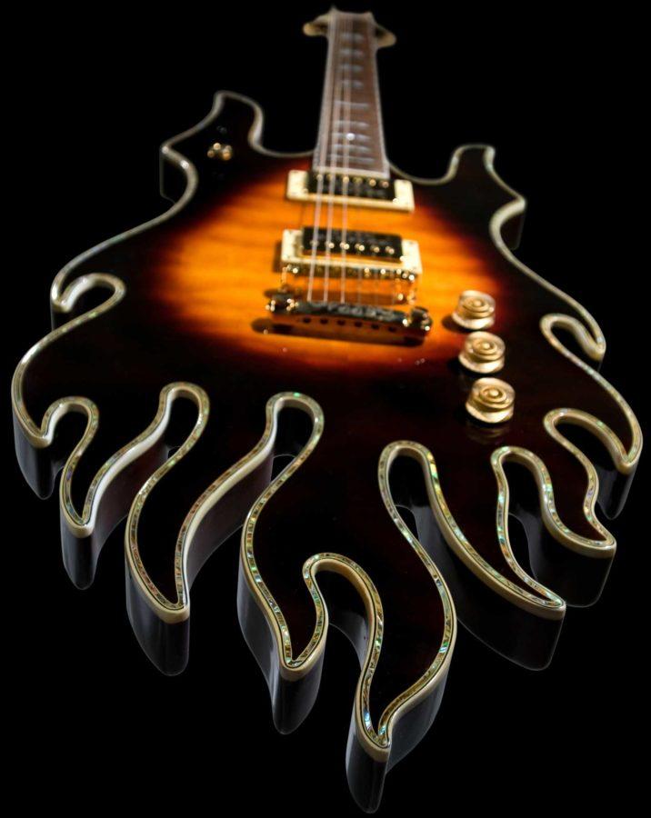 Ausgefallene Gitarren Minarik