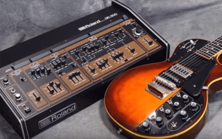 Ausgefallene Gitarren Roland