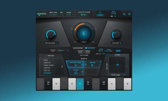 Test: Antares Auto-Tune EFX+, Tonhöhenkorrektur/Effekt Plugin
