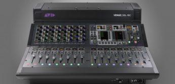 Avid stellt neue Live Plattform Venue S6L-16C vor