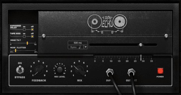 Avid Tape Echo