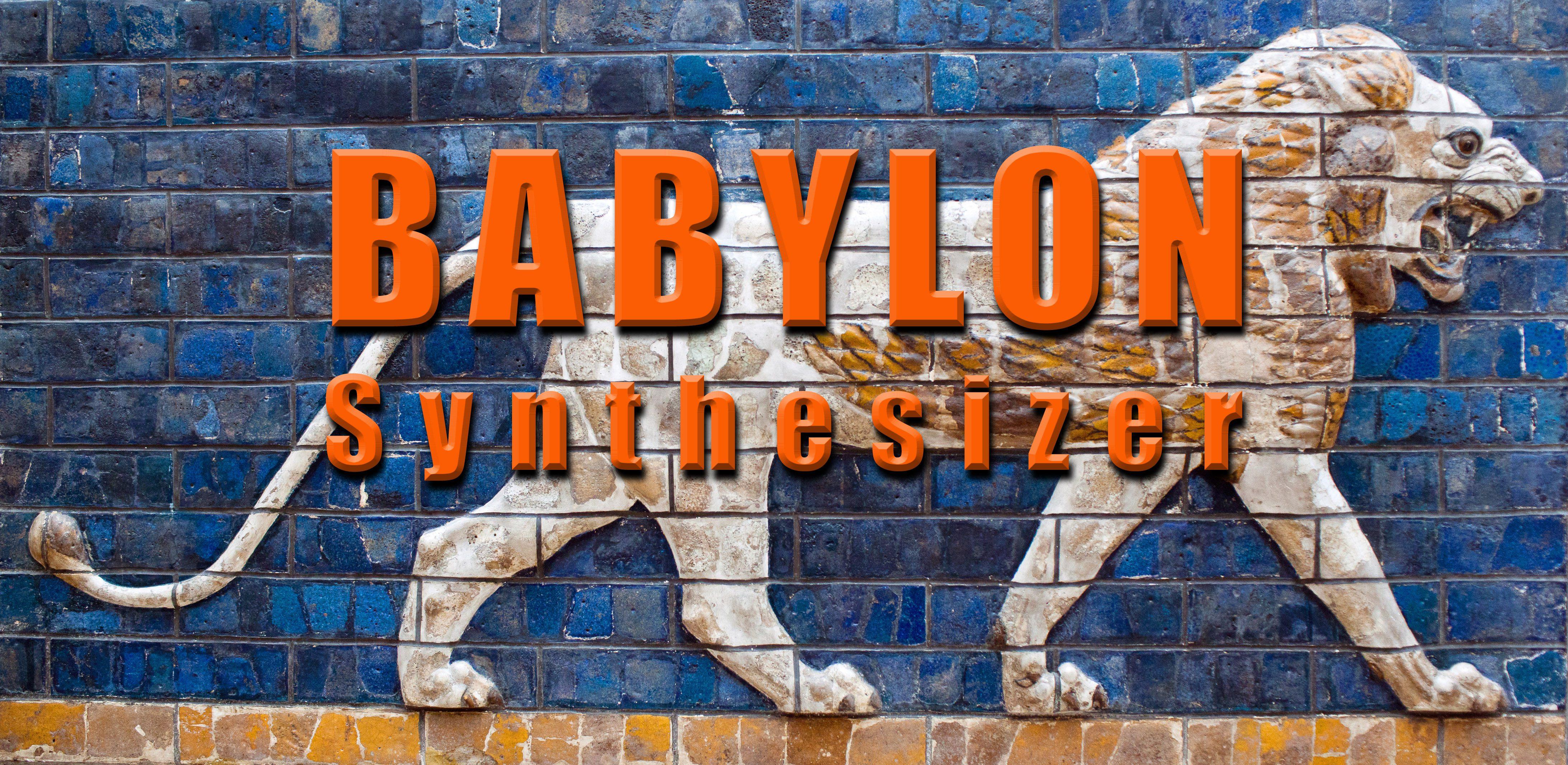 BABYLON Freeware Synthesizer, an AMAZONA de Community Project