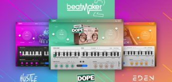 Test: ujam Beatmaker 2 DOPE, HUSTLE, EDEN Plugins