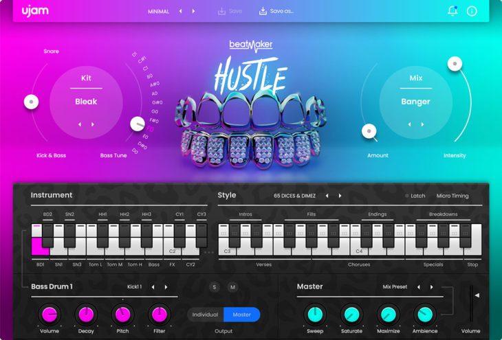 Beatmaker HUSTLE 2 User Interface