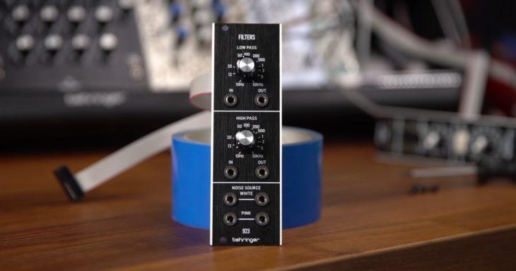 Behringer 923 Filters - Hochpass, Tiefpass und Noise