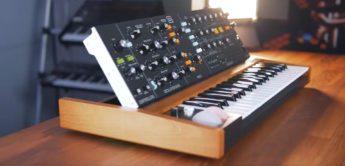 Behringer Poly-D Minimoog Klon mit Keyboard