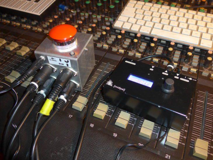 Das Clock-Setup für den RD-8-Vergleich