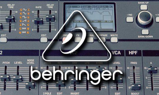 Alle Behringer Synthesizer News & Tests auf einen Blick