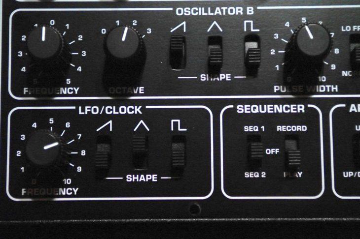 LFO und Sequencer des Pro-1