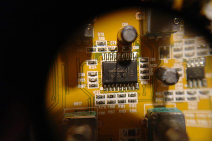 Der V3320 Filter Chip im Pro-1