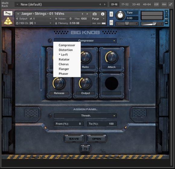 BIG KNOB - Audio Imperia - Jaeger