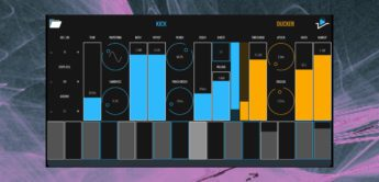 BLEASS sidekick AUv3, Kickdrum-Synth, iOS