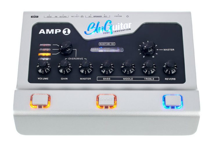 BluGuitar Amp1 Mercury Edition - Aufsicht