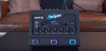 BluGuitar präsentiert Pedalboard Guitar Amp1 Iridium