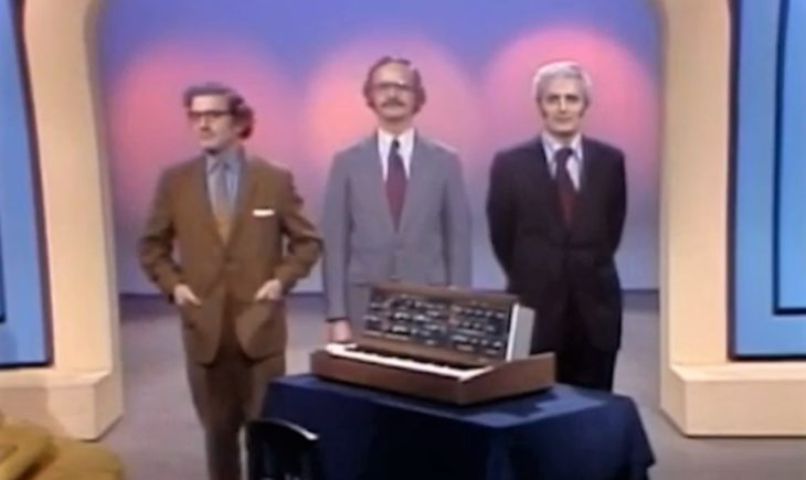 """Bob Moog als Kandidat in """"To tell the truth"""""""