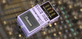Test: Boss DC-2w Dimension C Waza Craft Analog-Chorus