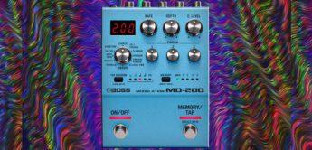 Test: Boss MD-200, Modulations-Pedal für Gitarre