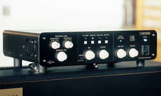 Test: Boss Waza Tube Amp Expander, Load Box