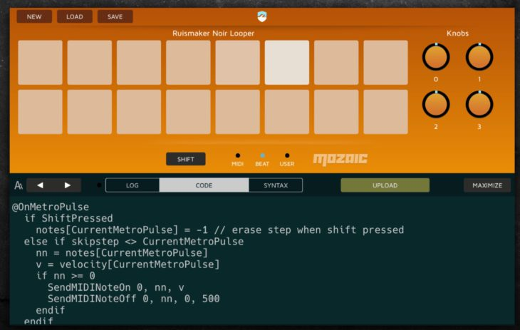 Bram Bos Mozaic Plugin Engine iOS Beitrag