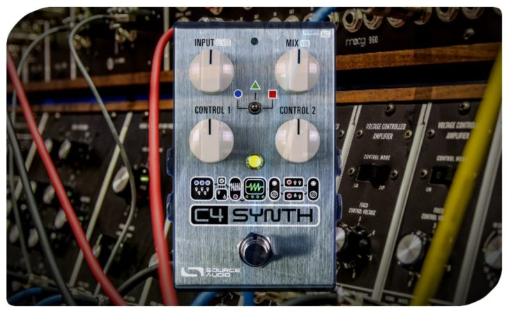 Source Audio C4 Synthesizer Pedal