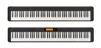 NAMM News 2019: Casio CDP-S100, CDP-S350, Stagepianos