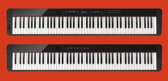 NAMM 2019: Casio stellt mit PX-S1000 und PX-S3000 kompakte E-Pianos vor