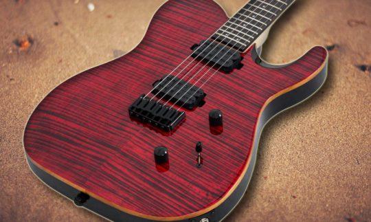 Test: Chapman ML3 Modern Incarnadine, E-Gitarre
