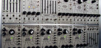 Discrete Synthesizers CMS System, ARP 2500 als Eurorack-Module