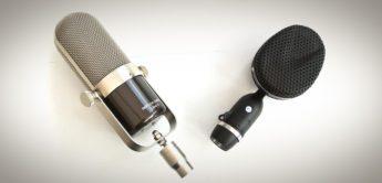Test: Coles 4038, Nohype Audio LRM-V, Bändchenmikrofone