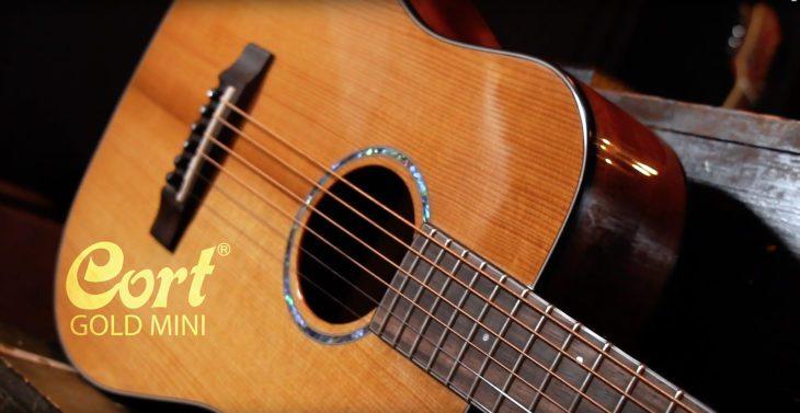 Cort Gold Mini Westerngitarre
