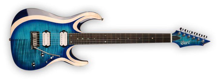 Cort X-700 Duality E-Gitarre front